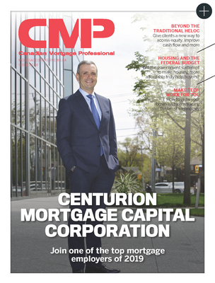 Centurion named one of the Top Mortgage Workplaces for 2019 by Canadian Mortgage Professional