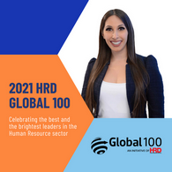 Centurion's Laura Salvatore selected in the 2021 HRD Global 100