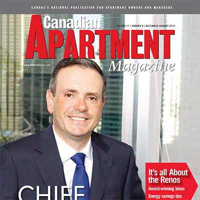 Greg Romundt named CEO of the Year by Canadian Apartment Magazine
